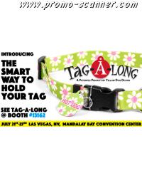 Tagalong dog collar sample