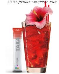 Free sample of TAKA energy drink