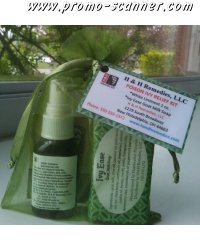 Free samples for cold and wound healing