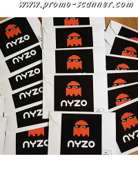Free stickers from Nyzo